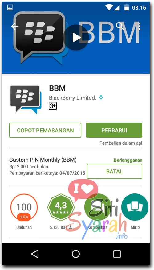Download BBM Terbaru v2.9.0.44
