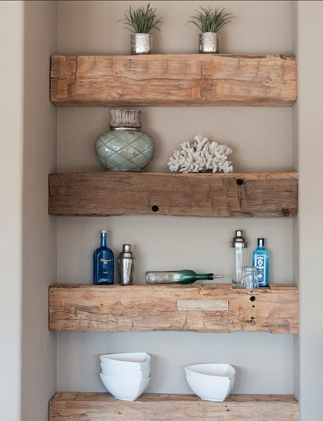 my sweet savannah rustic wood shelving