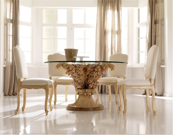 Western Home Decorating 55 Glass Top Dining Tables