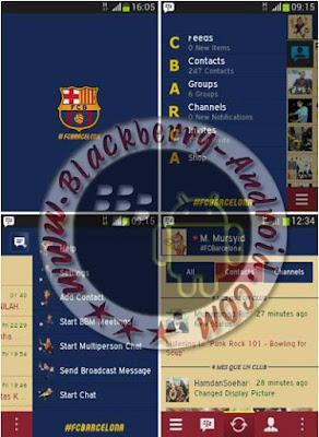 BBM Mod Tema Barcelona Fc New v2.8.0.21 Apk