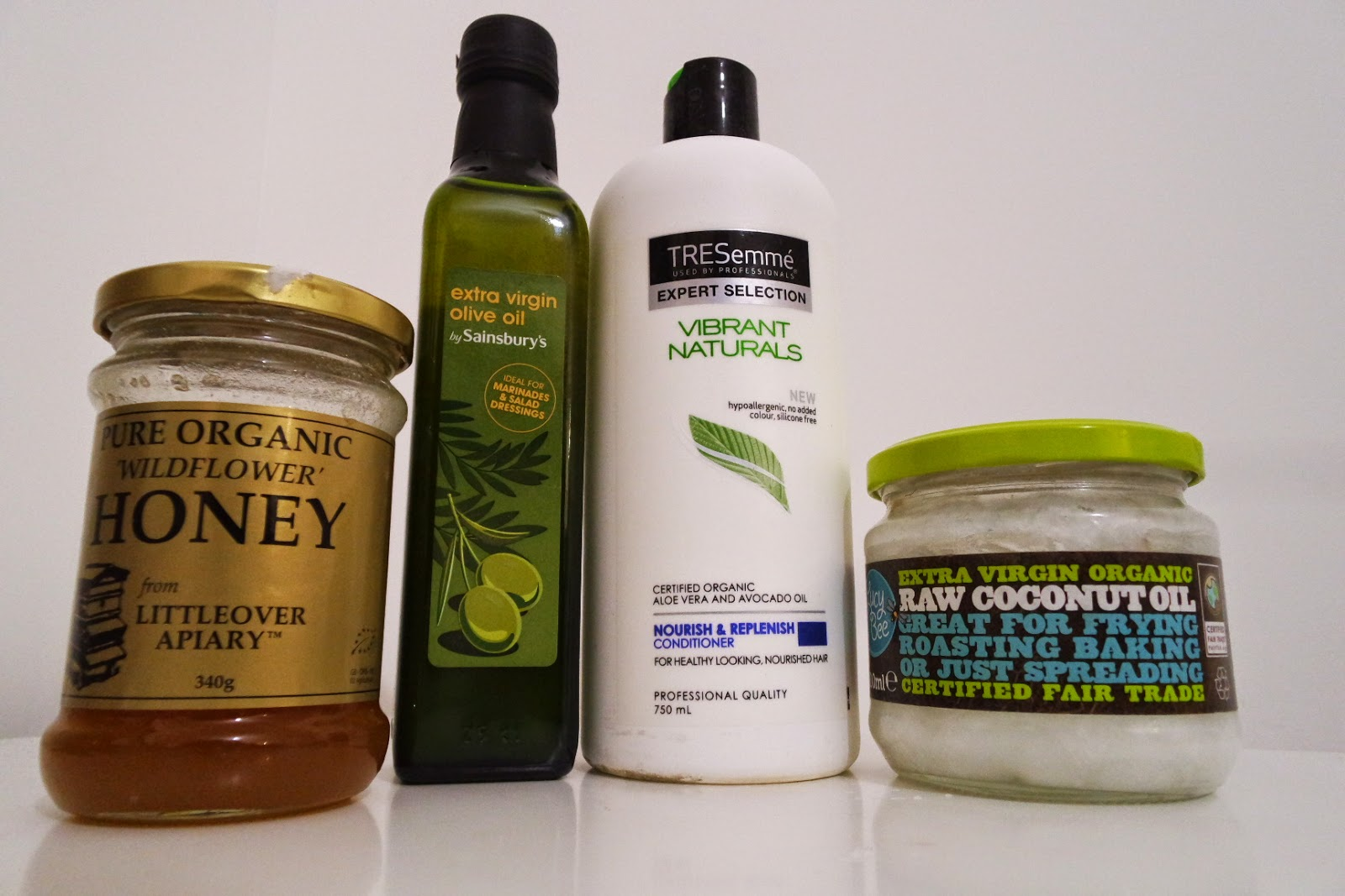 natural hair, deep conditioner, honey, olive oil