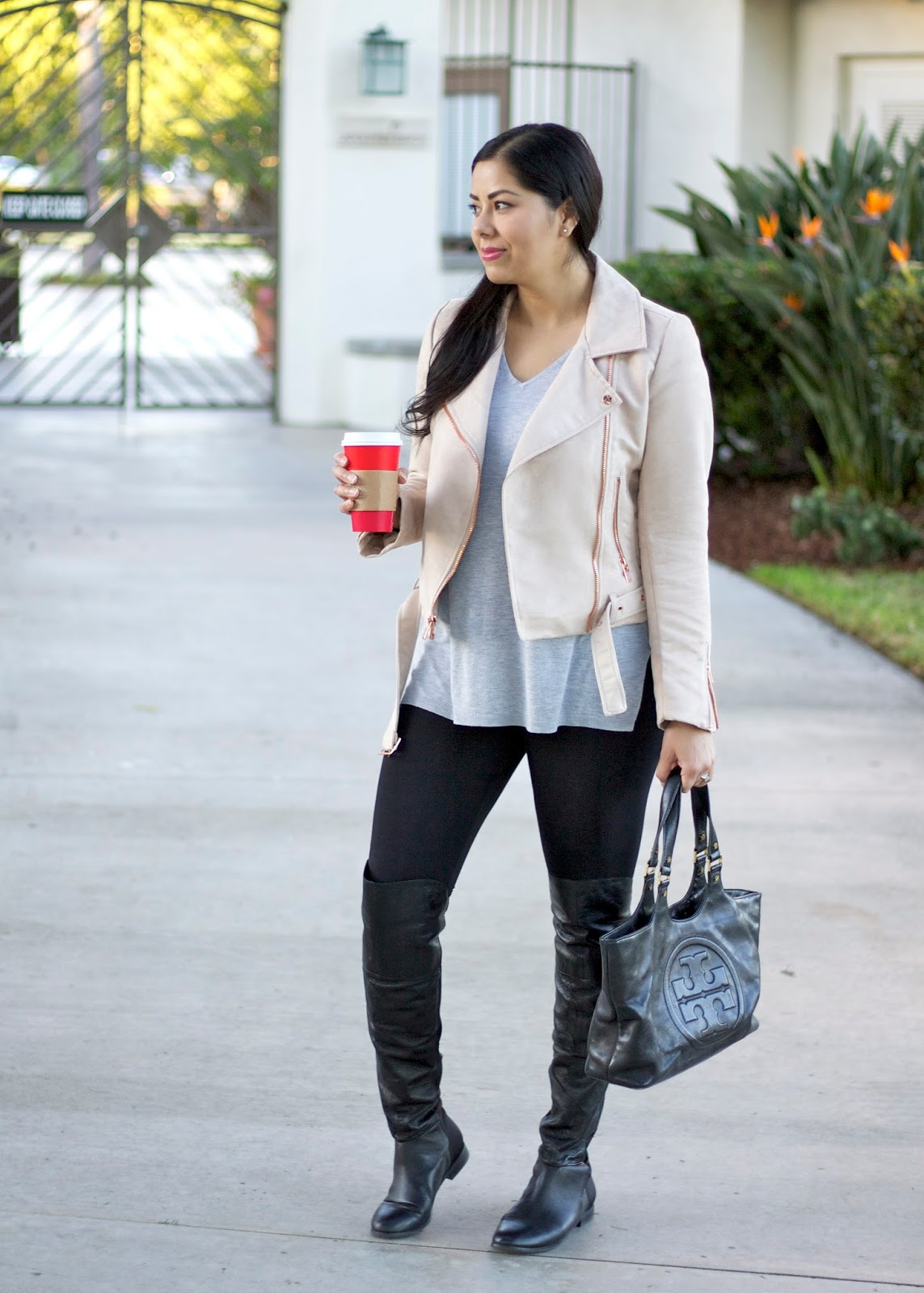 LC Lauren Conrad Moto Jacket, San Diego Fashion Blogger, San Diego Fashion, San Diego Fall Fashion