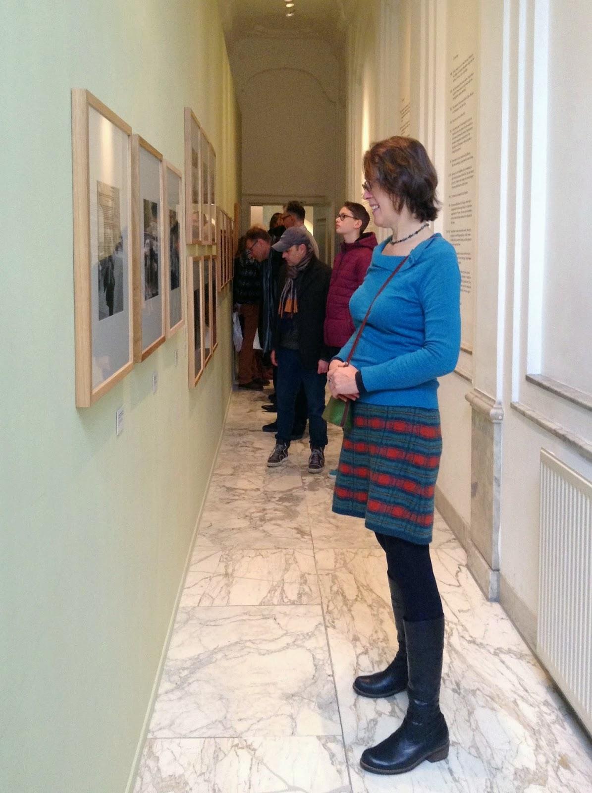 entrance of exhibition: Vivian Maier, Street Photographer