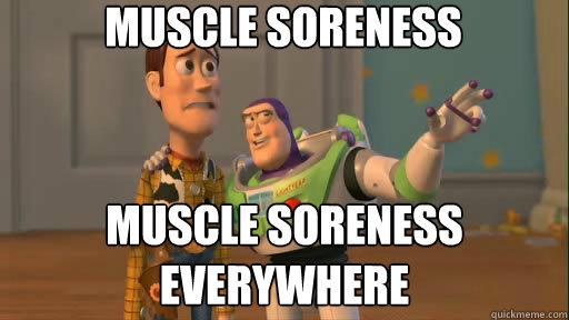 Funny sore body quotes