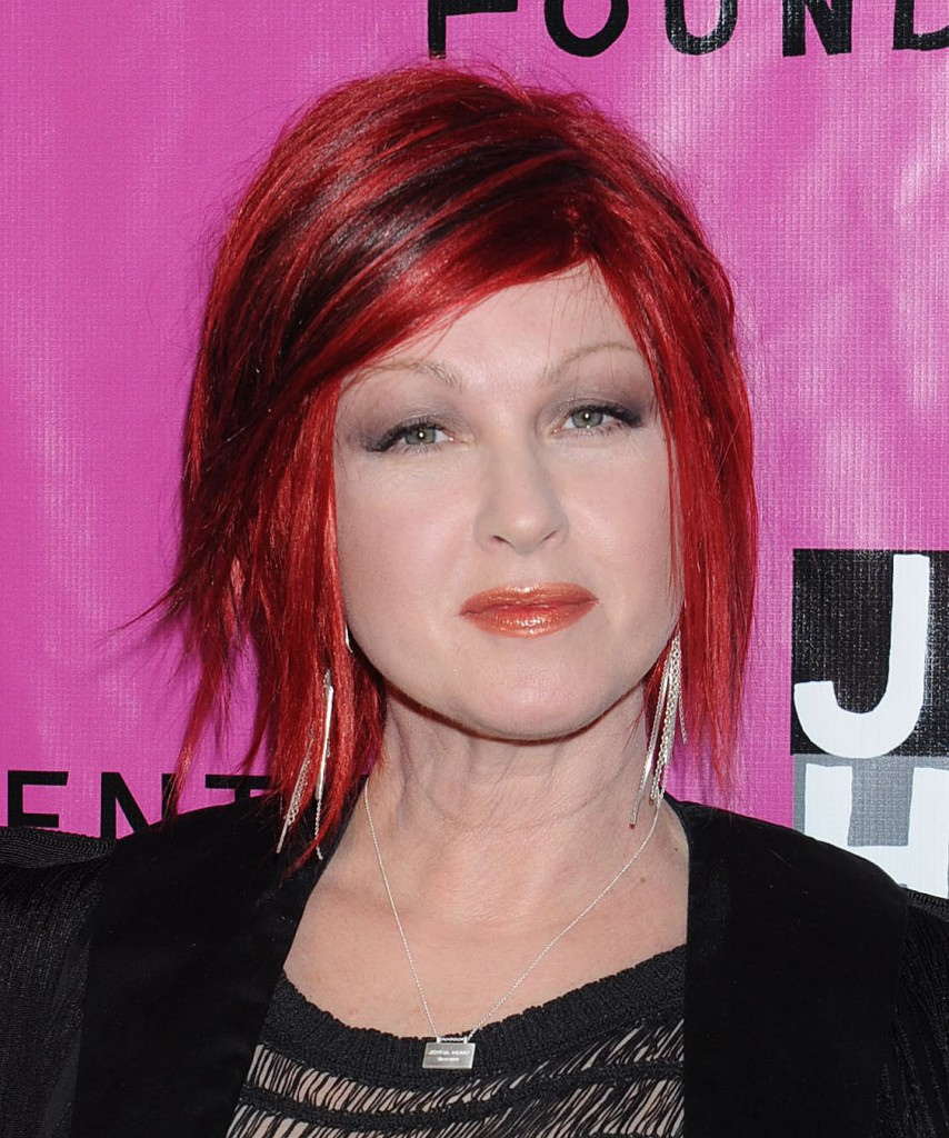Cyndi Lauper Hairstyles Women Hair Styles Collection