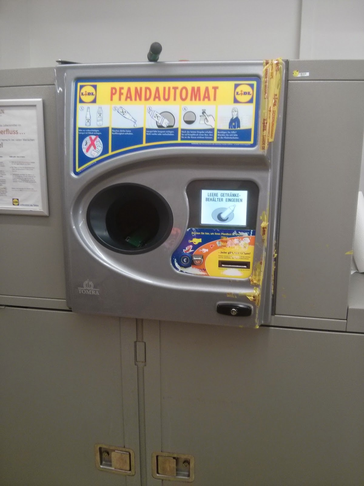 pfand machine