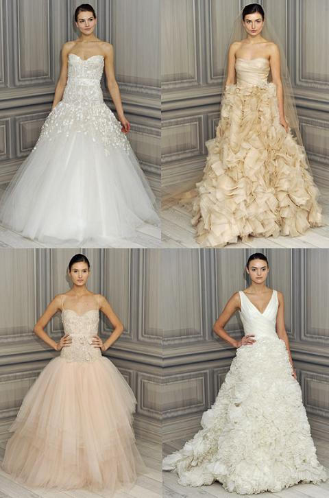 Glynnda\'s blog: These Monique Lhuillier wedding dresses are just too ...