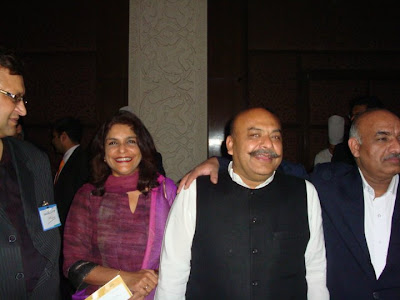 Sudhanshu Mittal Ji spotted at the SRCC alumni meet