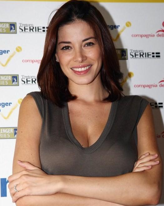 34c breast size. Aida Yespica Bra Size: 34C