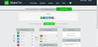 Cara Mempercantik Tampilan Blog dengan Social Share Button 3