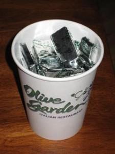 Olive Garden Andes Mints