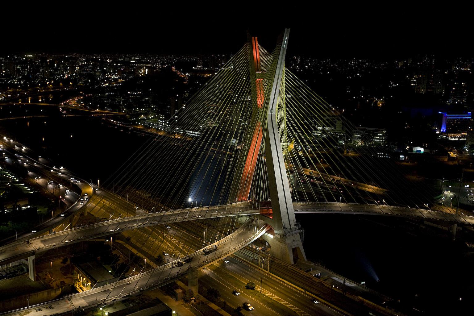octavio frias de oliveira bridge wallpapers - Octavio Frias de Oliveira Bridge Wallpapers HD Wallpapers