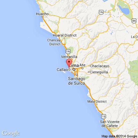 mapa epicentro del temblor en lima 2 octubre 2014