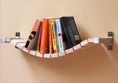 Cara Bikin Rak Buku Lengkung - Antik dan Unik