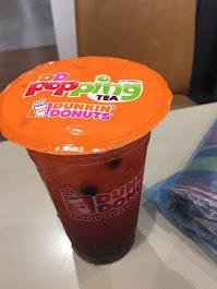2016 Bangkok Thailand, Bubble Tea at Dunkin Donuts
