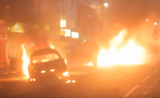 United Kingdom Violent Protests Revolution London Burning Hell Tottenham Madness Riots Video