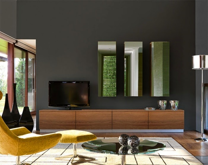 living room wall units with storage modern wall unit in wood with