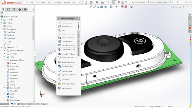 solidworks 2016 new user interface