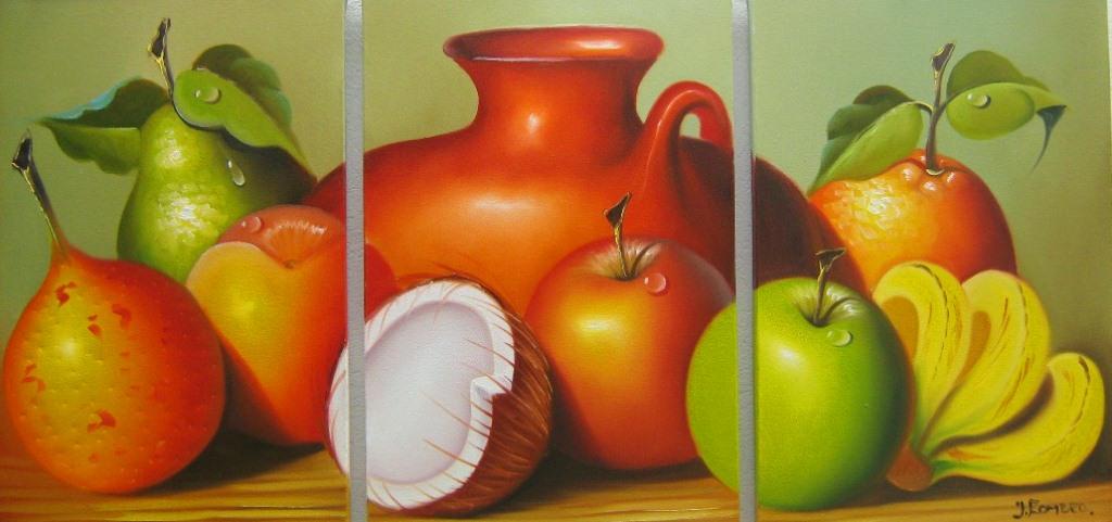 Im genes arte pinturas cuadros tr pticos bodegones - Fotos de bodegones de frutas ...