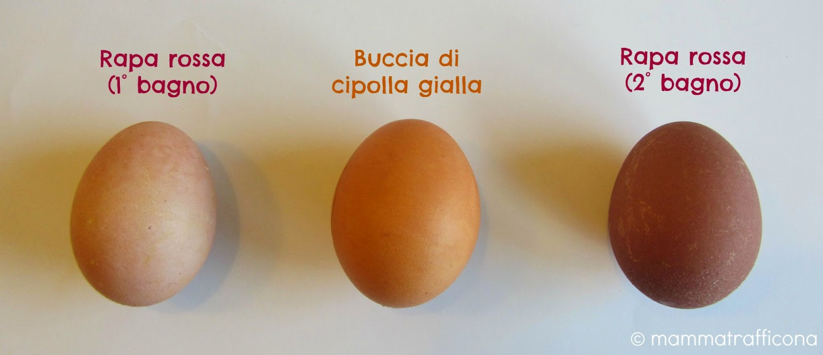 uova con tinture naturali vegetali