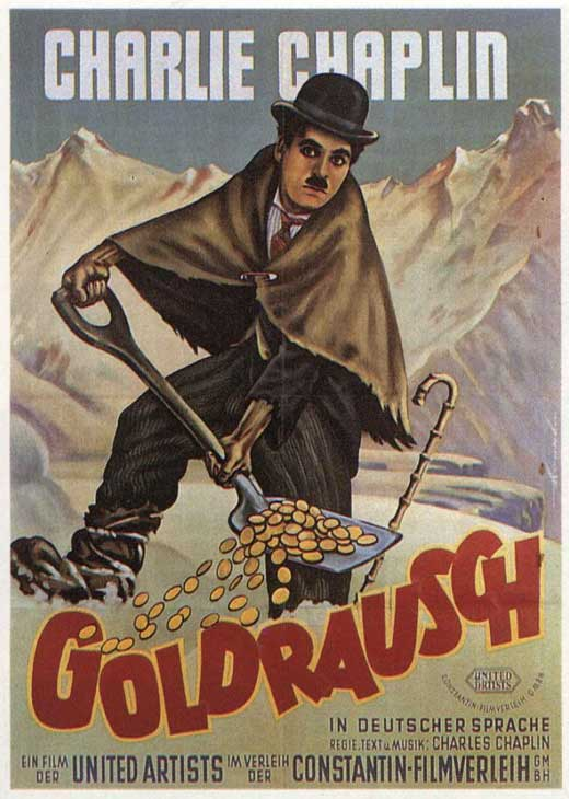 Cartel de la película : The Gold Rush - 1925 - Chaplin