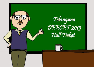 TS DIETCET Hall Ticket 2015