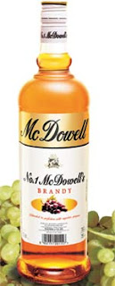 Caesar Brandy, Caesar Genuine Grape Brandy, Mc Dowells Brandy
