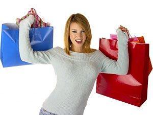 ايهم اهم عند المرأة..الحب ام التسوق - Shopping Happy Woman