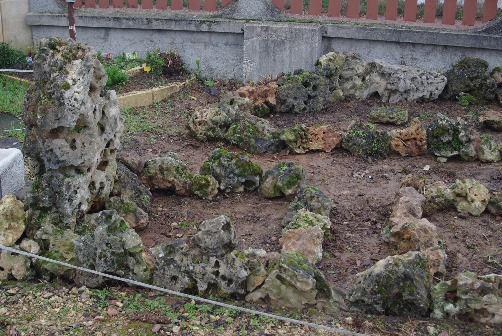 Promenade au jardin de lili dans le poitou nouvelle rocaille for Cailloux rocaille