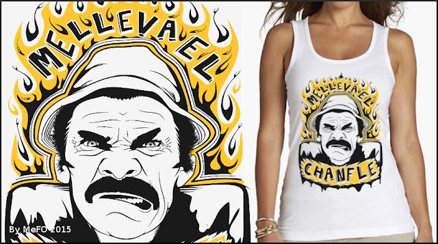 Camiseta vest top Don Ramón El Chavo del 8 comprar online+mujer