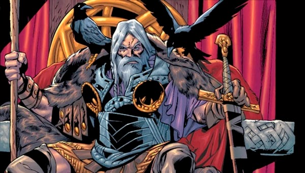 Odin, el rey y señor de los dioses nórdicos y de Asgard