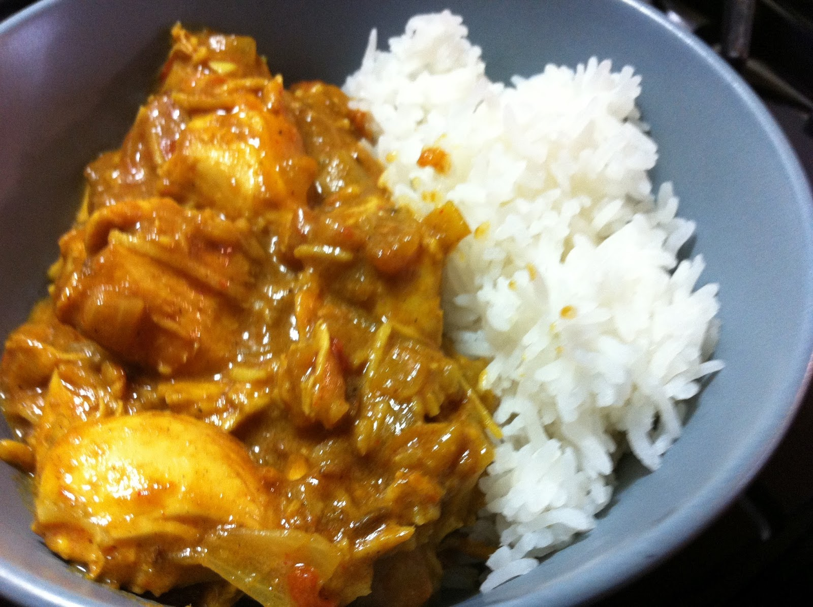 Cooking with SAHD: South Indian Coconut Chicken Curry