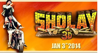 Sholay 3D 2014 Watch Online