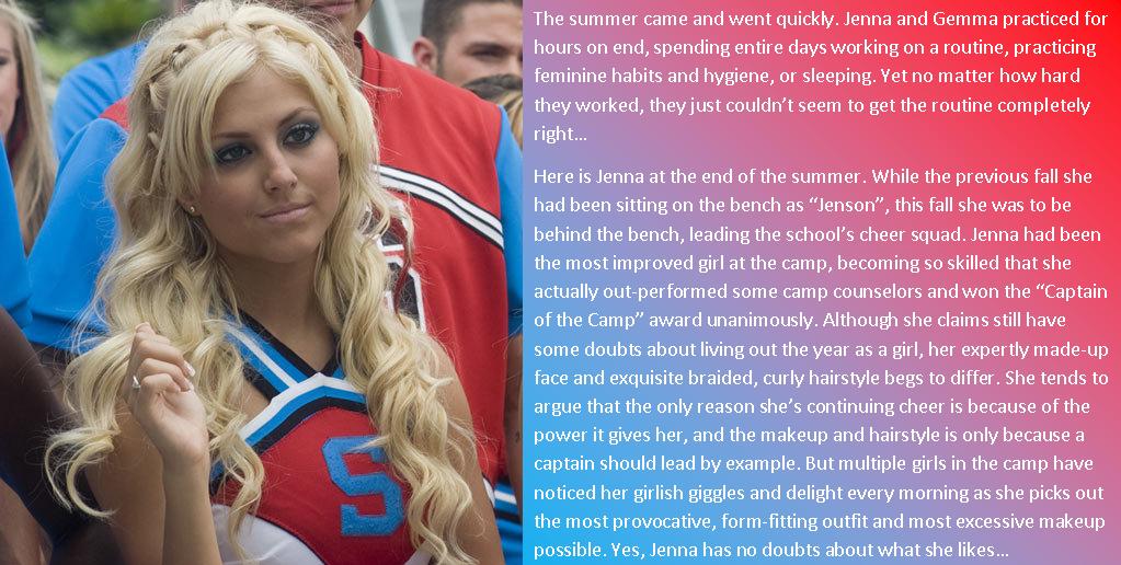 Elena Starz TG Stories/Captions: Camp Cheerio: Epilogue