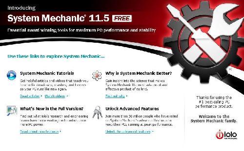 System Mechanic - набор утилит, позволяющих поддерживать.