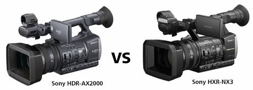 Sony HXR-NX3 vs Sony HDR-AX2000 (updated) Campbell Cameras inFOCUS ...