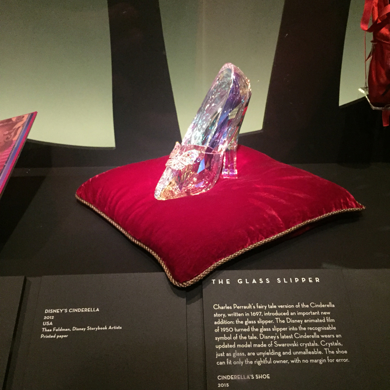 the glass slipper from Cinderella Movie