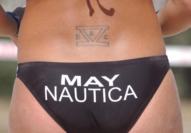 Misty May-Treanor has a pair of tattoos, including the Roman numeral 5 along