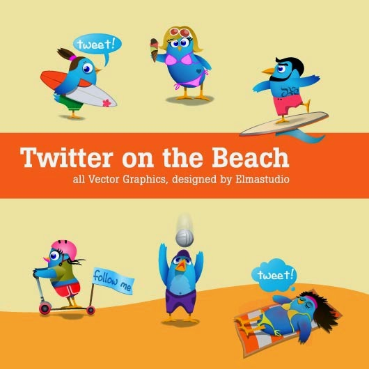 6 Coole Twitter Icons