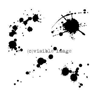 Visible Image stamps ink splats stamps