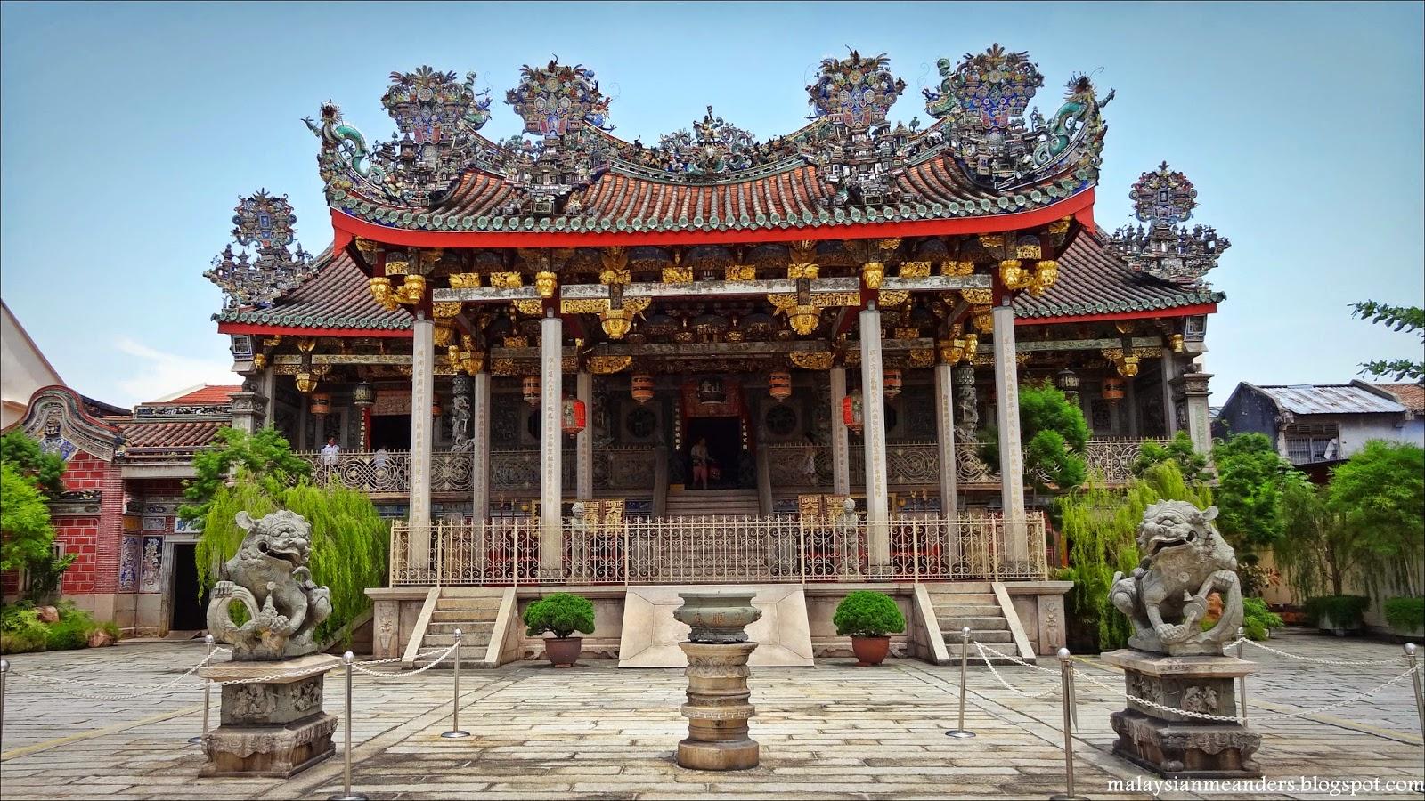 Penang, George Town, clanhouse