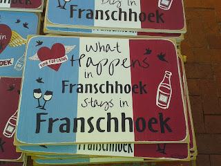 What happens in Franshoek