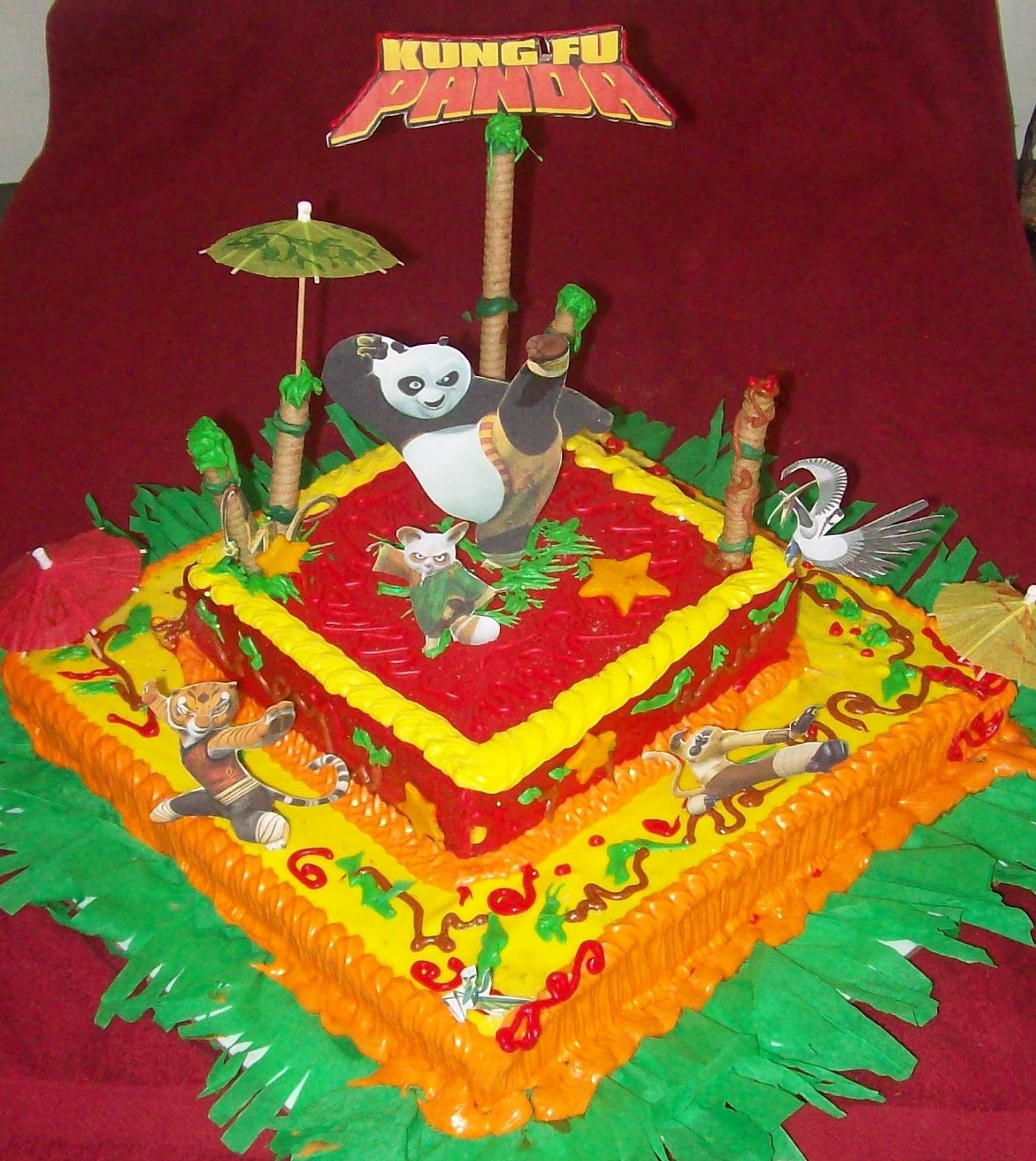 Torta kungfu panda - Imagui