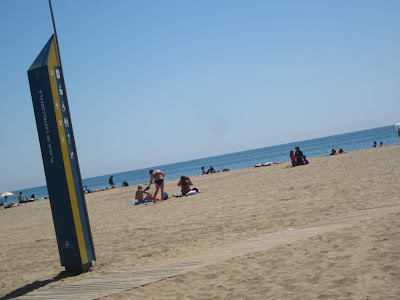 Castelldefels Beach in Barcelona