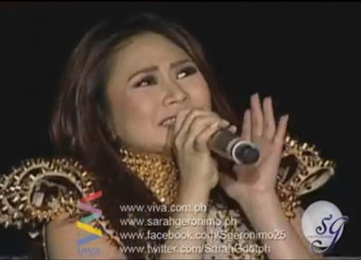 Sarah Geronimo sings Anak (Rock Version)