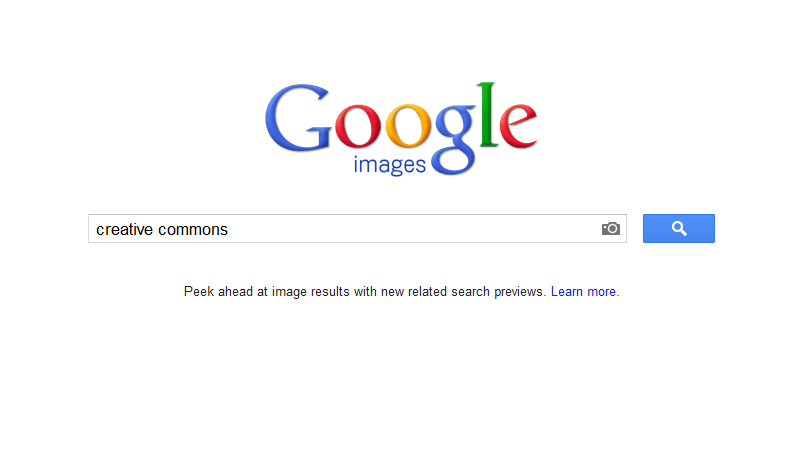 how to find creative commons images