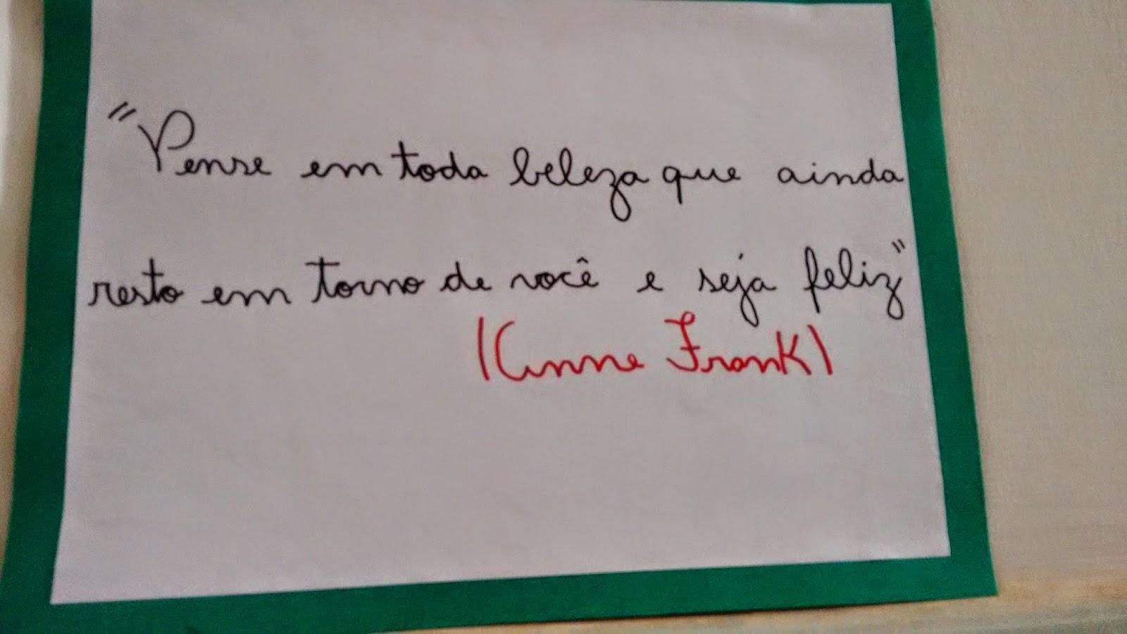 Emeb Feliciano Sales Cunha O Diário De Anne Frank Um Projeto