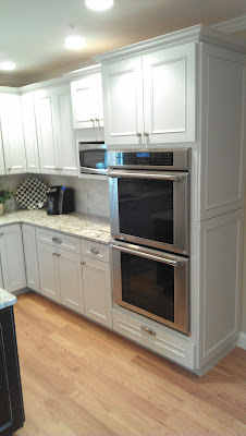 Double oven cabinet