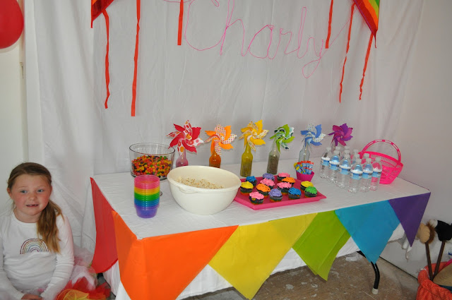 Rainbow Party {food}