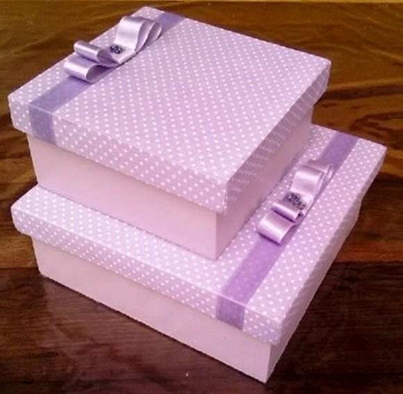 C mo hacer cajas paso a paso - Cajas grandes de carton decoradas ...